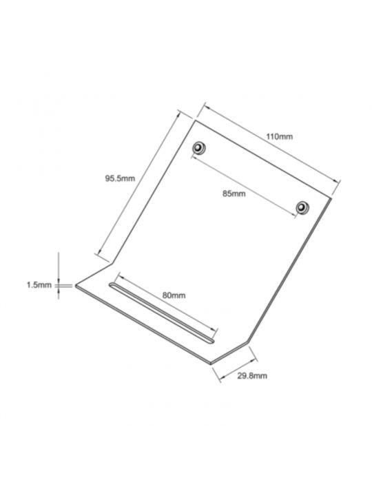 AKCP Kit de montage 45° par le haut pour LCD-TMP